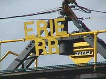 Erie turntable tower